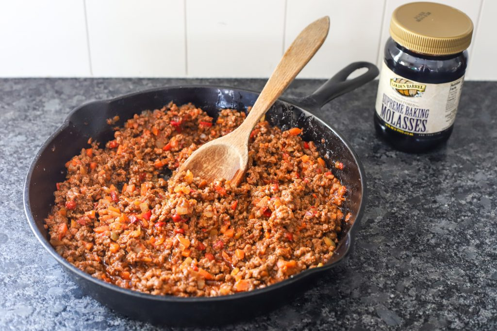 Sloppy Joes with Molasses