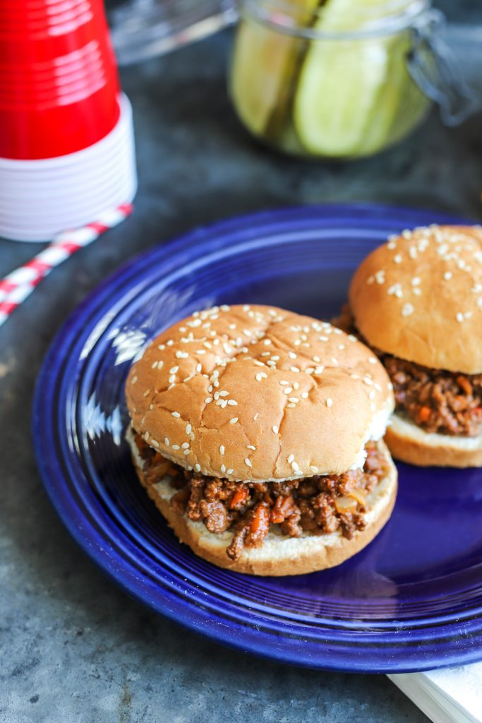 (Healthier) Sloppy Joes