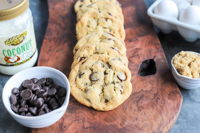 Classic Crunchy Chocolate Chip Cookies