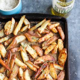 Baked Parmesan Herb-Seasoned Fries
