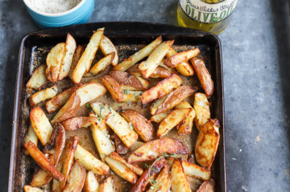 Baked Parmesan Herb-Seasoned Fries