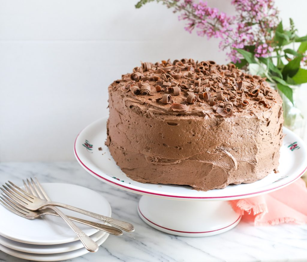 Triple Chocolate Zucchini Cake