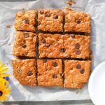 Oatmeal Peanut Butter Chocolate Chip Breakfast Bars