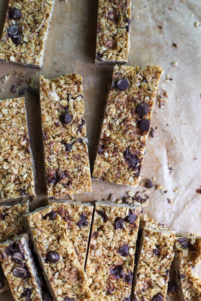 easy homemade granola bars