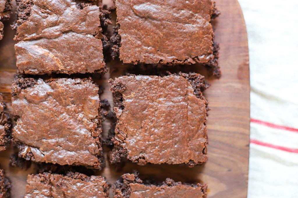 Crinkle-top Fudge Brownies