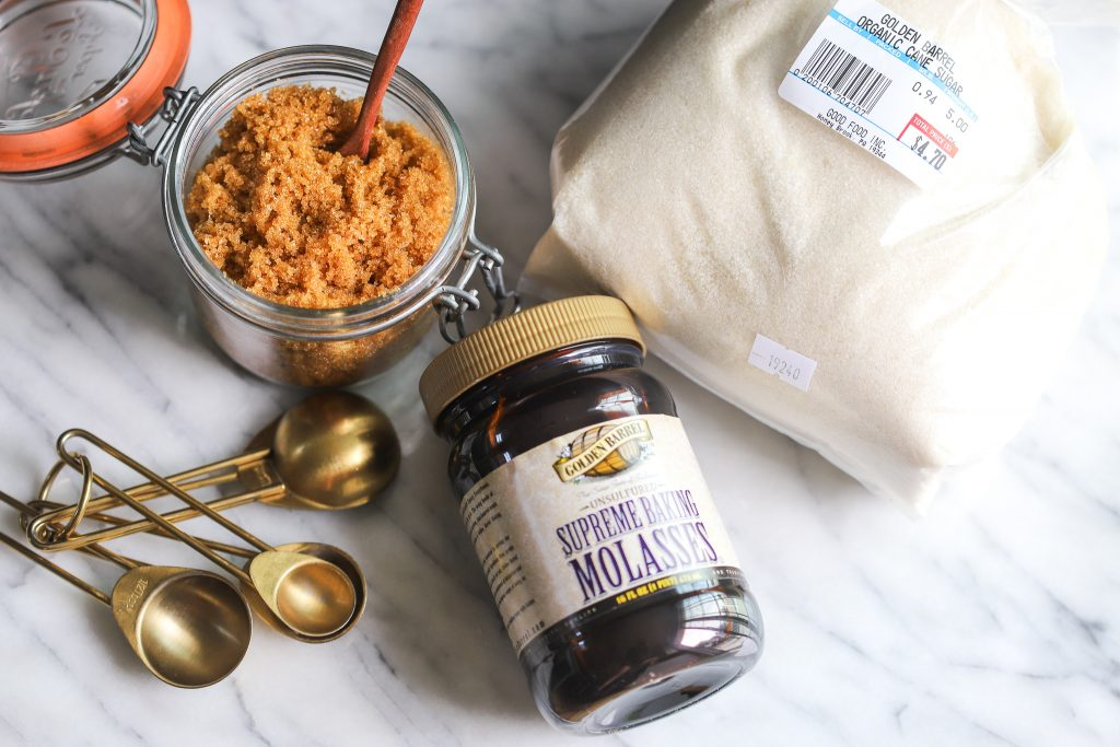 How to Make Brown Sugar Using Golden Barrel Supreme Baking Molasses