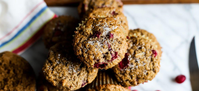 Cranberry Walnut Spice Muffins