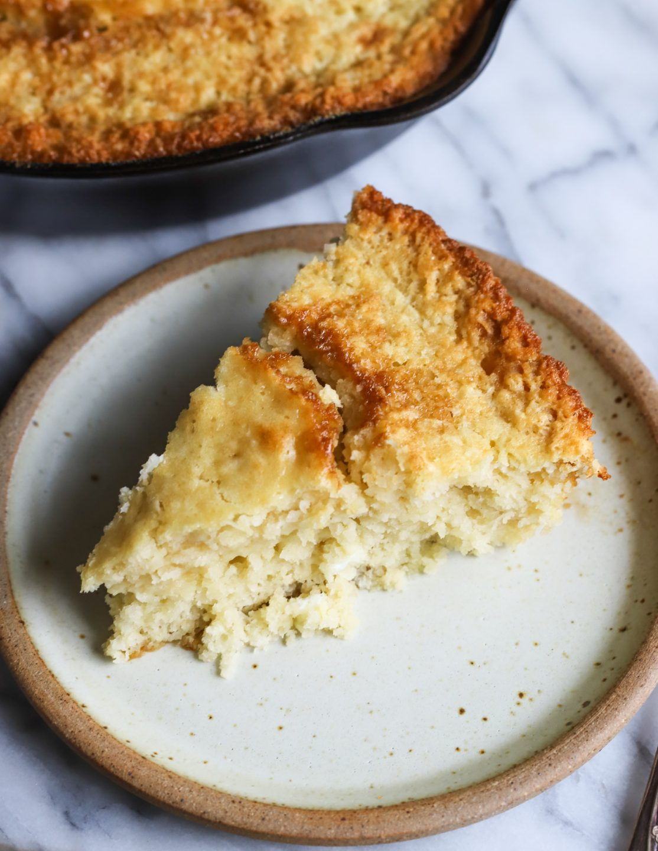 Coconut Brown Sugar Skillet Cake