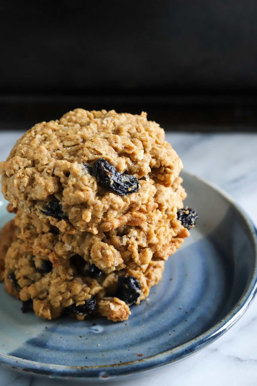 Brown Butter Oatmeal Raisin Cookies